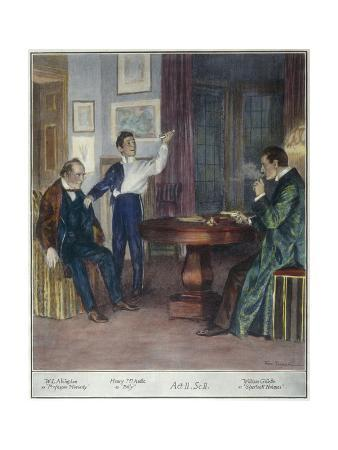 Scene from a Play About Sherlock Holmes