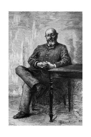 Emile Augier, Seated