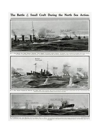 Small Craft in North Sea Action by G. H. Davis