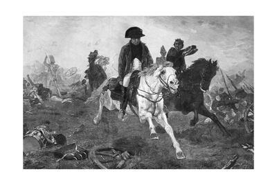 Napoleon I after the Battle of Waterloo