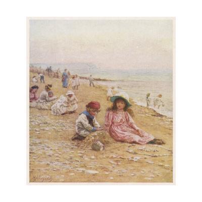 Sandown Beach Children