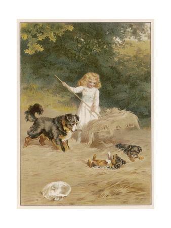 Girl Haymaking 1889