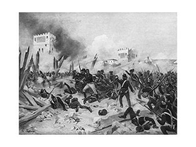 Taking of Badajoz 1812