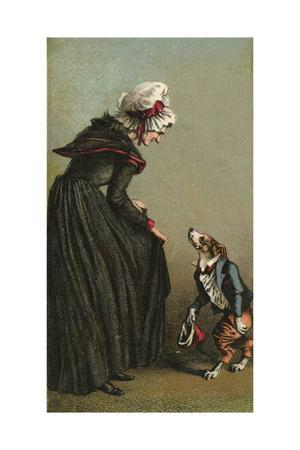 Mother Hubbard, Curtsey