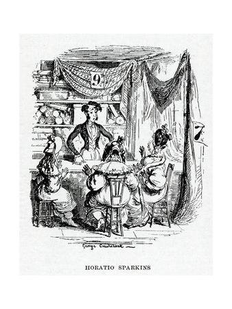 Horatio Sparkins, Charles Dickens
