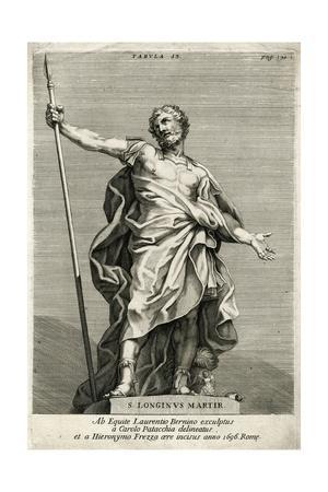 St Longinus, Martyr, 1696