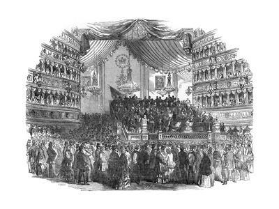 National Concert at Her Majesty's Theatre,1850