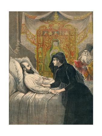 Tsar Alexander Deathbed