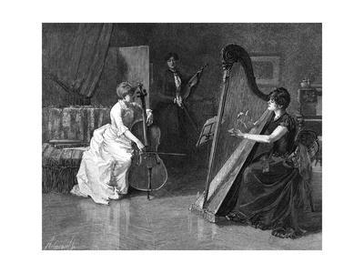 Music at Home - a Trio of Musicians