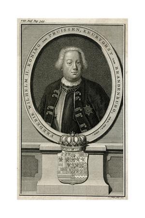 Friedrich Wilhelm I, 1735