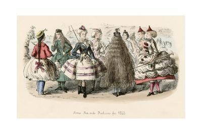 Sea Side Fashion 1863, Leech
