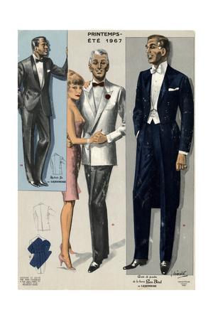 Men's Eveing Dress 1967