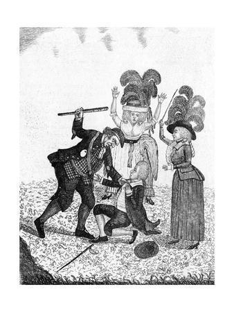 Retaliation, or the Cudgeller Caught'