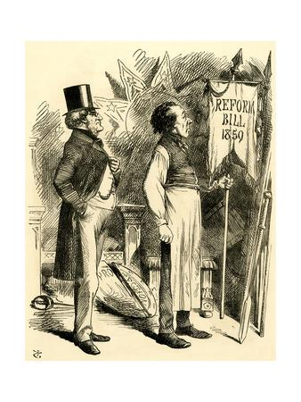 Disraeli, Reform 1866