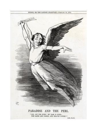 Disraeli, Paradise Peri