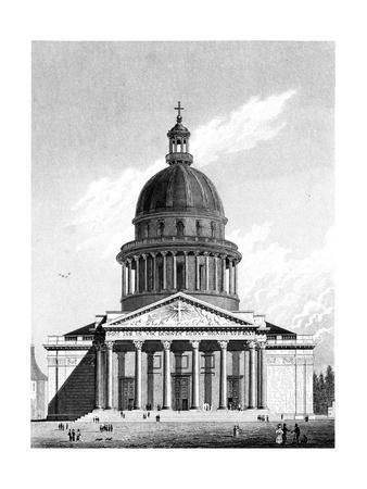 Paris, France - Eglise Sainte-Genevieve