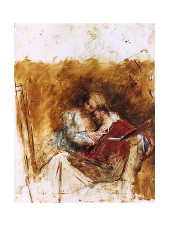 Sketch for Le Peintre