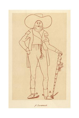 A Fashionable Man in 1790 - a Scaramouch