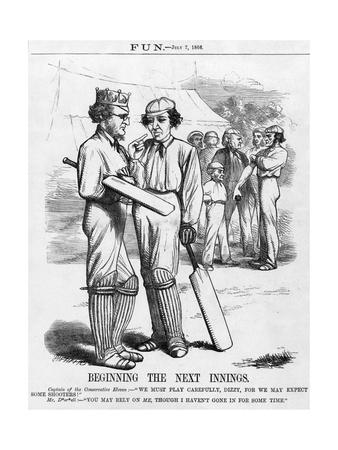 Disraeli, Cricket Innings