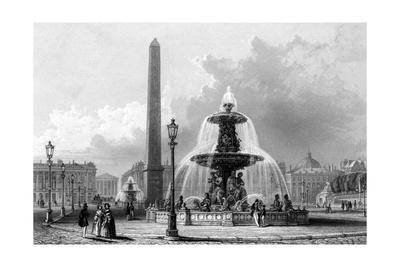 Paris, France - Place de La Concorde