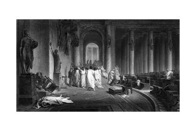 Death of Caesar 44 BC