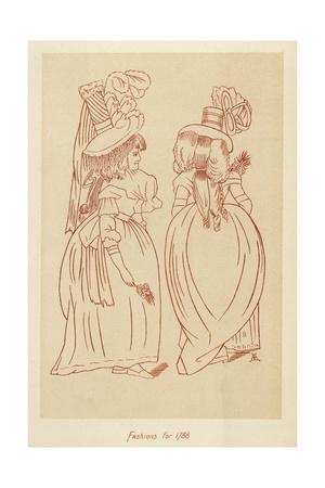 Fashions for 1788
