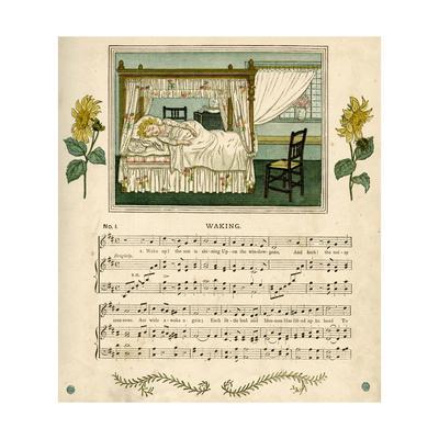 Illustration with Music, Waking