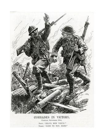 WW1 - 'Comrades in Victory'