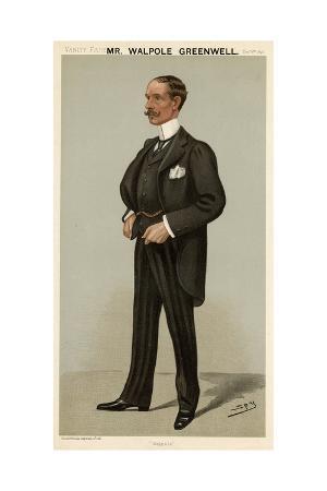 Sir Walpole L. Greenwell, Vanity Fair