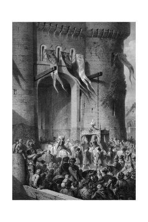 Isabeau Enters Paris