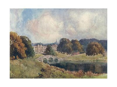 Audley End, Essex, 1909