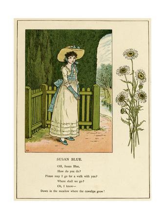 Illustration, Susan Blue