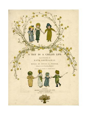 Main Title Page Design, a Day in a Child's Life