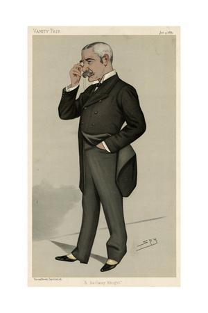 Sir Myles Fenton, Vanity Fair