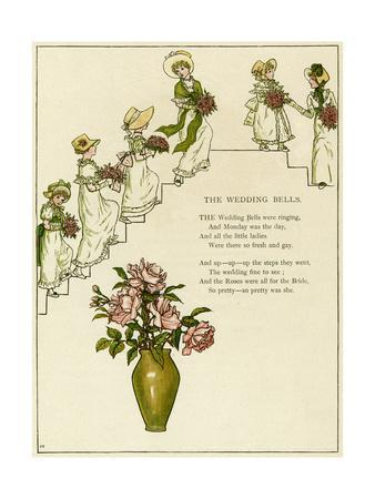 The Wedding Bells -- Bridesmaids with Bouquets