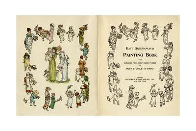 Illustrations, Kate Greenaway's Painting Book