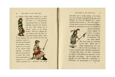 Three Illustrations, the Queen of the Pirate Isle