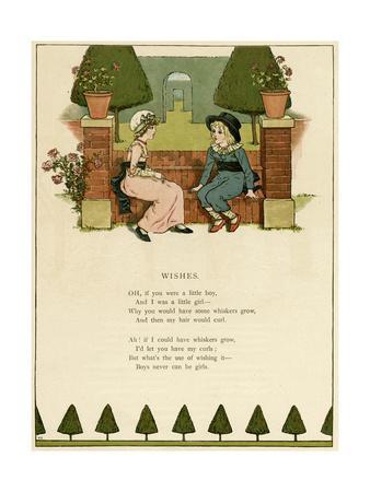 Illustration, Wishes