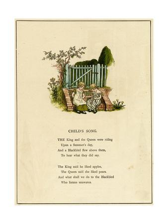 Illustration, Child's Song