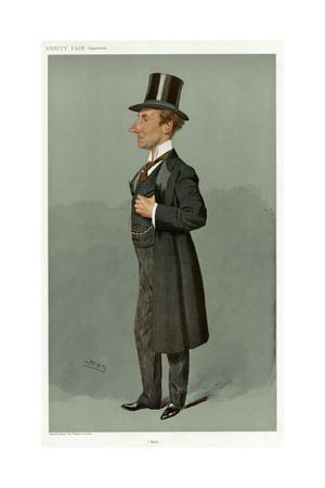 Sir Samuel Thomas Evans, Vanity Fair