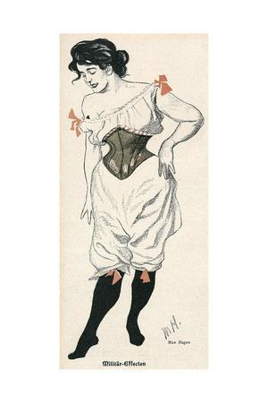 Lady in Corset, Jugend