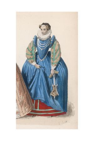 Frenchwoman 1580S