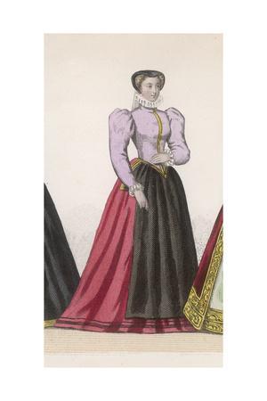 Frenchwoman 1560