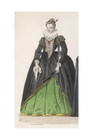 Frenchwoman 1590S