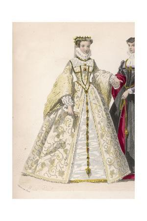 Frenchwoman 1570