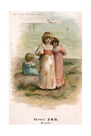 Little Girls at the Seaside
