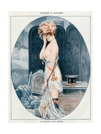 Woman in Slip 1918