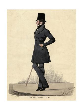 Man in Black 1820s