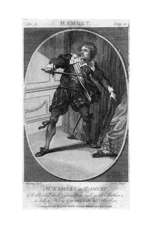 Kemble as Hamlet