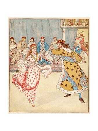 Nursery, Rhyme, the Queen of Hearts, Caldecott, 6 of 8